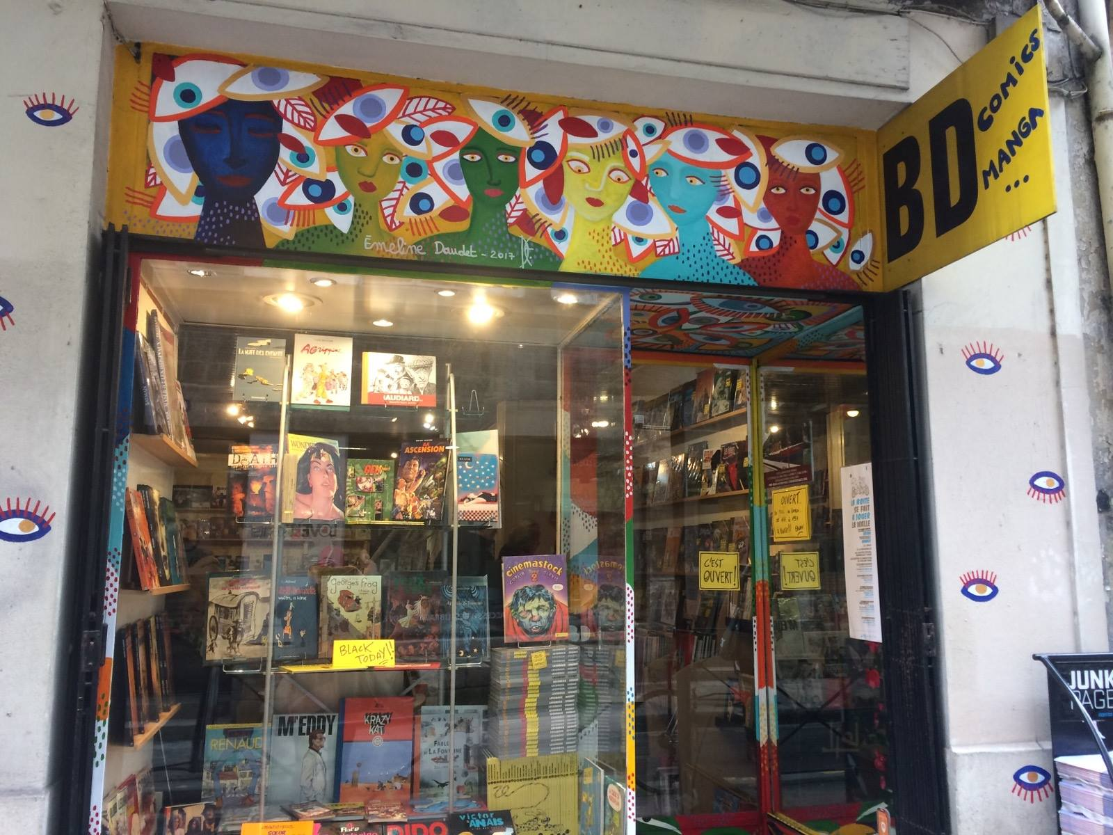 front comic book store DBD bordeaux france