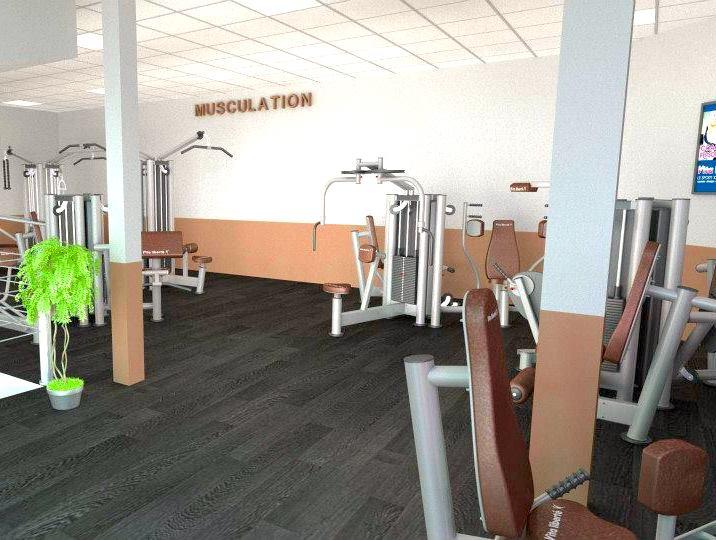 equipment gym facility vita liberté bordeaux france