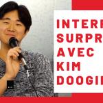thumbnail interview interro surprise avec kim doogie pour newdeal institut